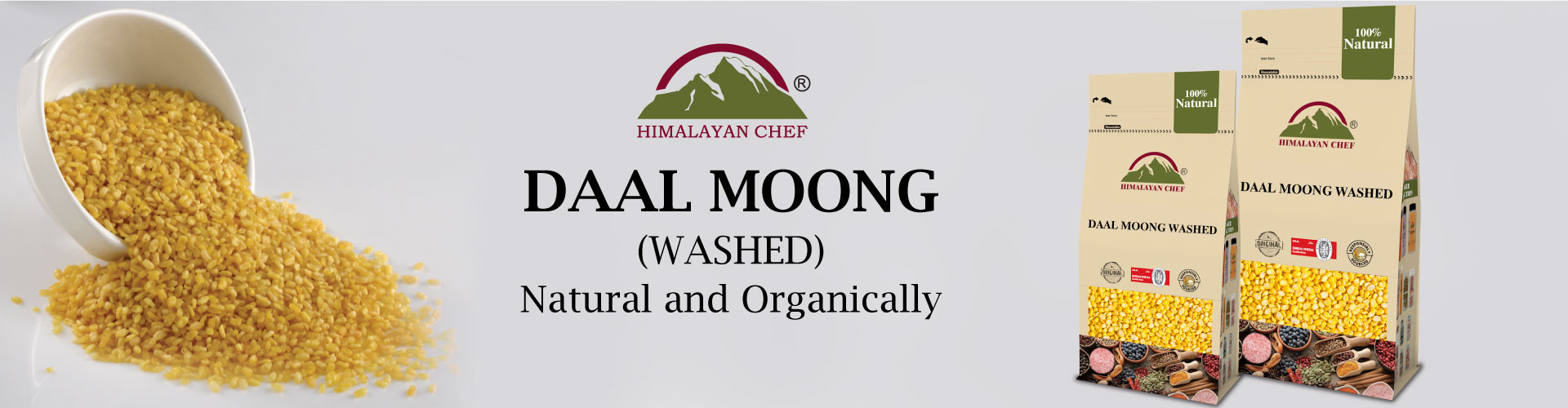 Daal Mong Washed