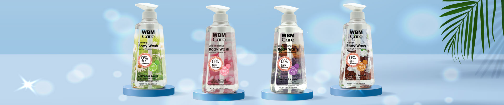 WBM Care Body Wash Collection